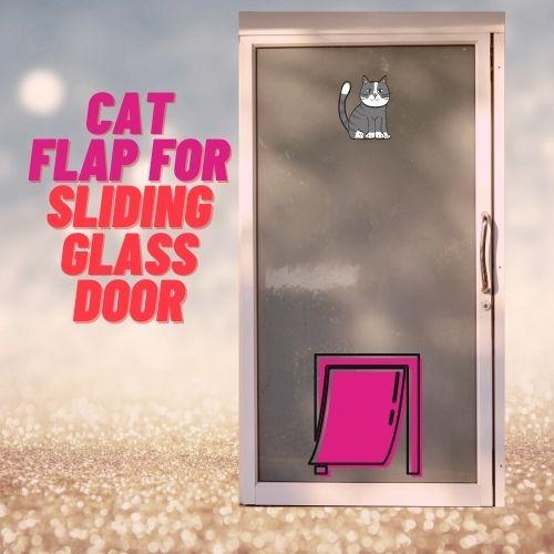 cat flap for Sliding Door lion aluminium glass